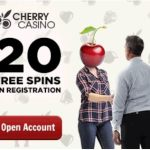Cherry Casino 100 no deposit free spins and €600 free bonus