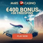 Mars Casino | €400 or 3 BTC bonus and 50 free spins | Mobile Slots