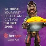 Betspin Casino €400 free bonus and 150 free spins – fast payments!