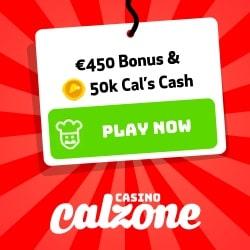 Casino Calzone [review] €450 free bonus and 150,000 Cal's Cash!