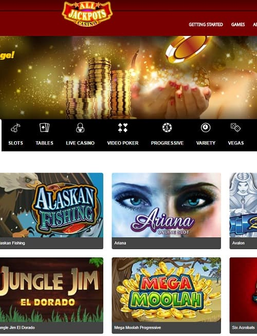 All Jackpots Online free spins