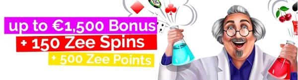 Playzee Casino 150 free spins and 175% bonus