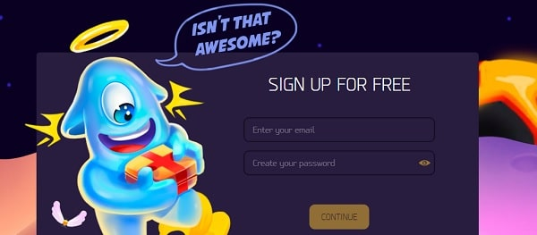LuckMe Casino sign up for free