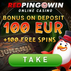 Red Pingwin Casino (redping.win) 100 free spins & 100 EUR bonus
