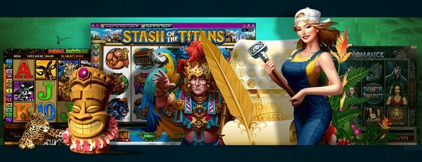 Gaming Club Casino jackpot slots and live dealer