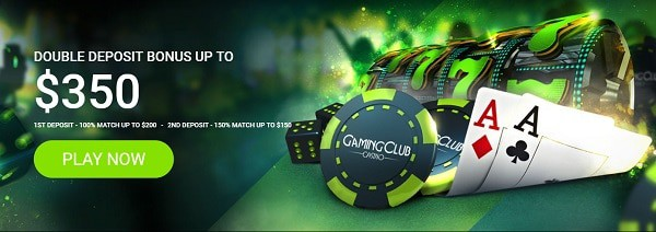 Gaming Club Casino $350 bonus and 30 free spins no deposit required!