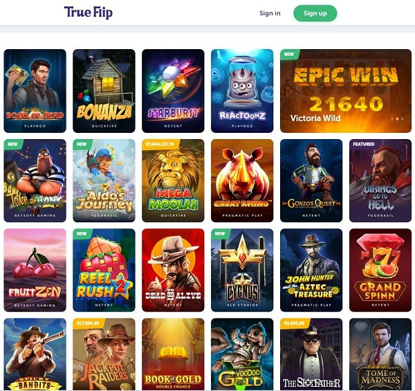 Full Review of TrueFlip.io Online Casino!