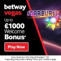Betway Casino 100% welcome bonus and £1,000 free spins reward