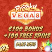 Freaky Vegas Casino free spins