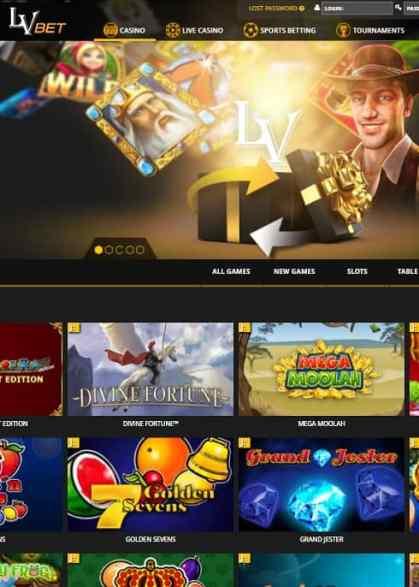 LVBet Casino Free Spins Bonus