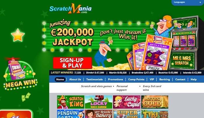 Scratch Mania Casino Online