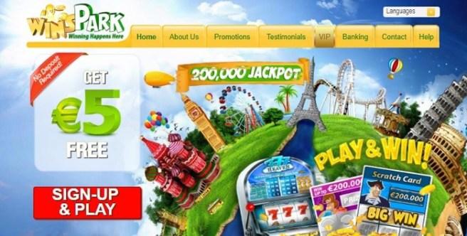 Winspark Casino Online $5 free bonus and 150% extra