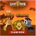 Lucky Creek Casino - 50 free spins bonus - Saucify, Rival, BetSoft