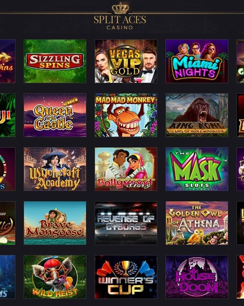 Split Aces Casino free bonus