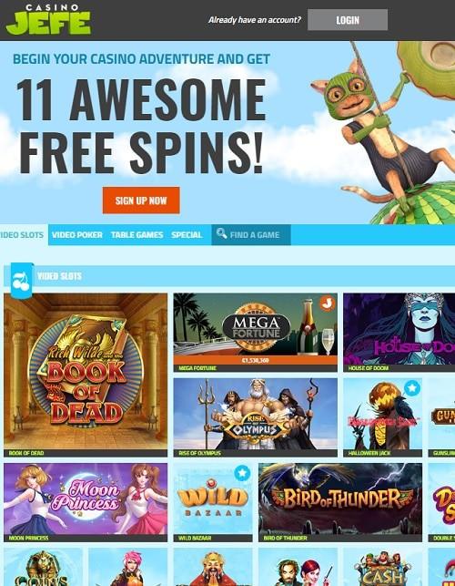 Casino JEFE review