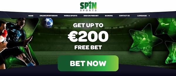 Spin Casino $200 FREE SPORTS