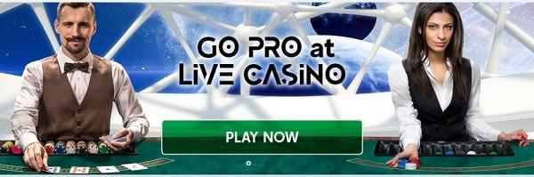 GoPro Casino live dealer