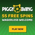 Piggy Bang Casino 55 free spins without wagering conditions