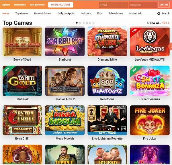LeoVegas.com Online Casino Review