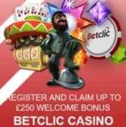 BetClic Casino free spins