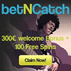 BetNCatch Casino €500 free cash & 150 free spins - bonus codes