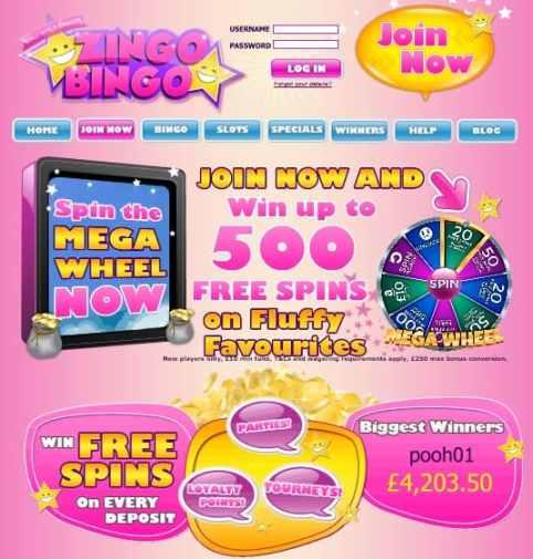 Zingo Bingo free games online