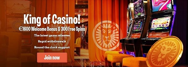 Leo Vegas Casino 300 free spins and $1600 welcome bonus