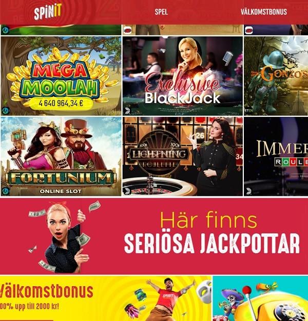 Spinit.com Casino review