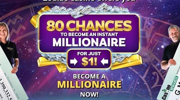 Zodiac Casino 80 free chances