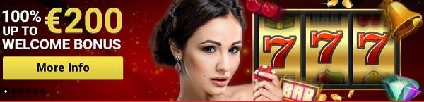 Mongoose Casino 100% bonus and 20 free spins