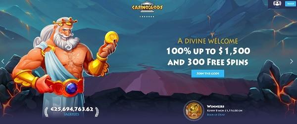 Casino Gods Wonderos sine tilbud