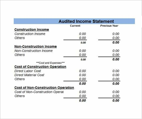 financial statement excel template image 22