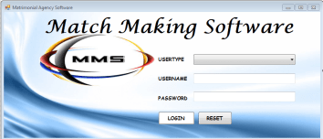 Matrimonial Agency Software SRS