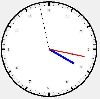 Analog Clock using VB.NET