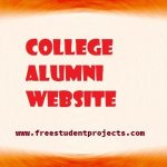 College alumni website