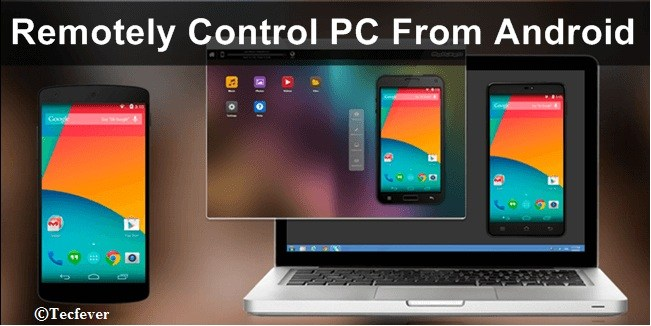 Control PC By Using Android Phone