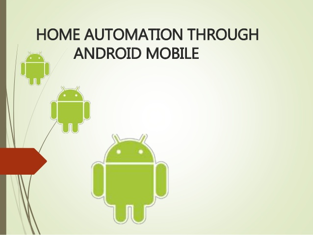 Home automation using Android