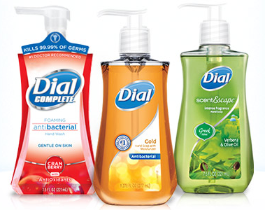 NEW Dial Body Wash or Soap Coupons