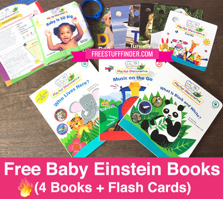 FREE Baby Einstein Book Bundle Just Pay 499 Shipping