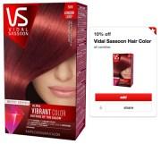 2.70 reg 8 vidal sassoon hair
