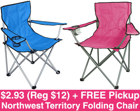 northwest territory chairs round glass table and hot 2 93 reg 12 folding chair free pickup