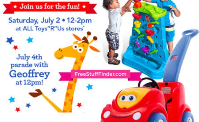 Free 4th Of July Event At Toys R Us Saturday 7 2 Only