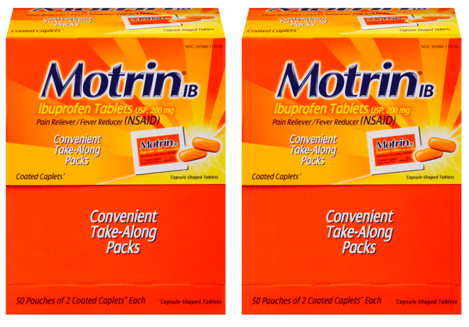 *HOT* FREE Motrin Take Along Caplets 100 Count Box