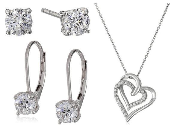 FREE Swarovski Zirconia Stud Earrings With $25 Jewelry