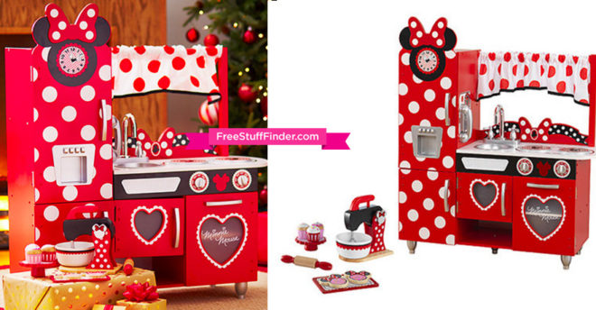 139 99 Reg 245 Kidkraft Minnie Mouse Kitchen Amp Baking