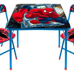 Spiderman Table And Chairs Reclining Rocking Chair Canada 23 73 Reg 50 Set Free Store Pickup