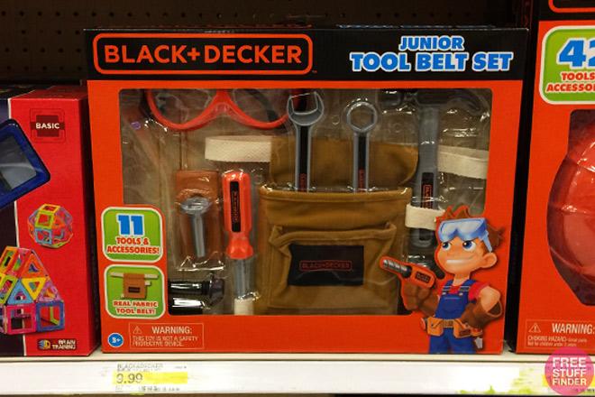 Black And Decker Junior Tool Belt Set