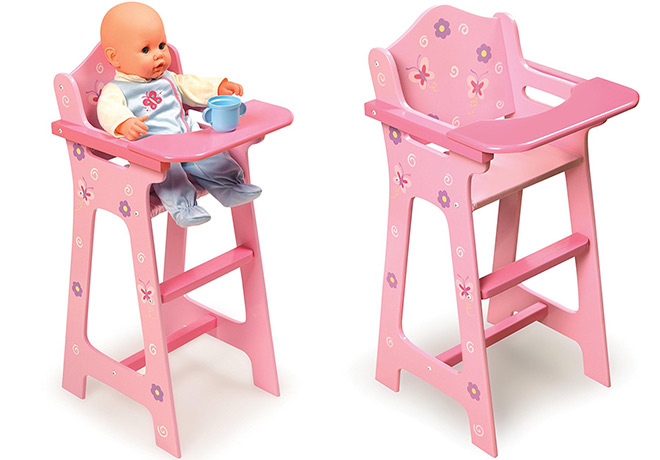 badger basket high chair folding floor canada hot 18 69 reg 37 blossoms and butterflies doll head over to amazon where you can score this for only regularly 36 99