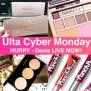 Run Ulta Cyber Monday Deals Live Now Through 11 28 At