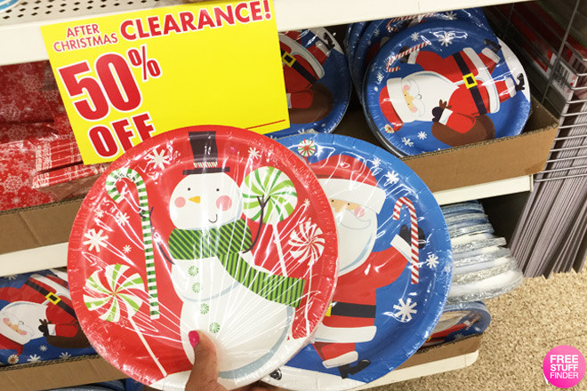 HOT 050 Christmas Clearance At Dollar Tree Gift Bags